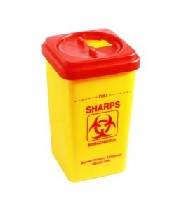 Sharps container medical waste