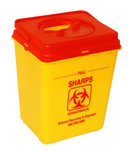 Medical Sharps Box